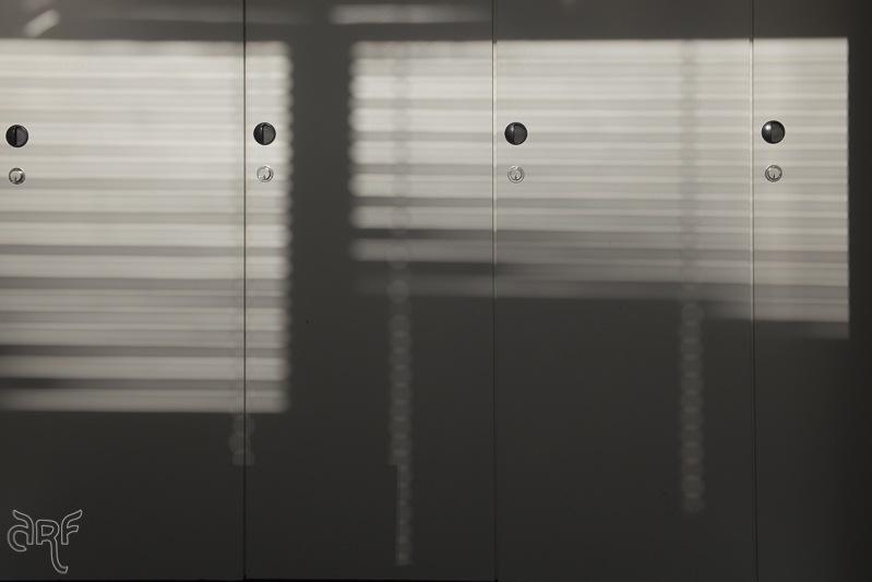 light through blinds