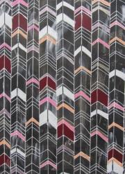 Variation on herringbone pattern