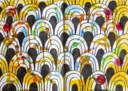 Colourful scallops