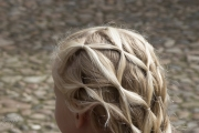 pattern of braided hair
