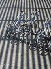 pattern bicycle rack