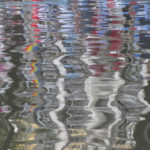 colourful reflection in water