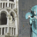 white and blue fantasy costume