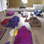 group in savasana