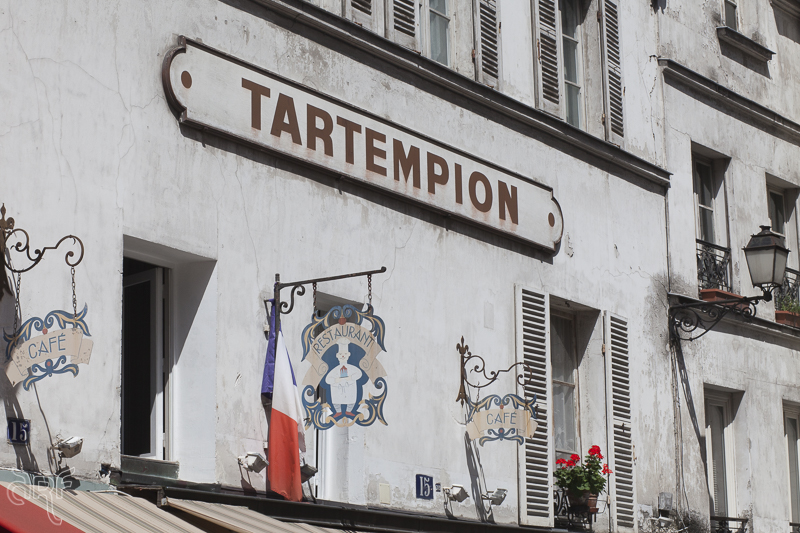 facade restaurant Tartempion Paris