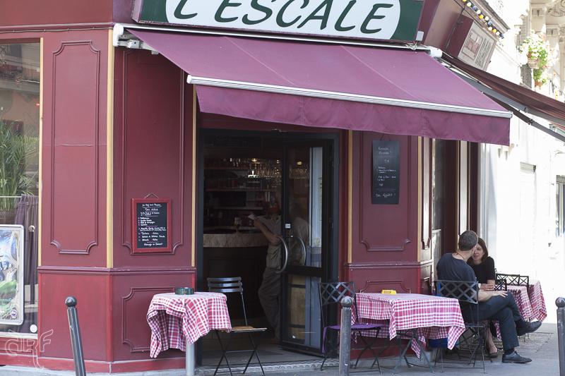 facade restaurant Belle de Jour Paris