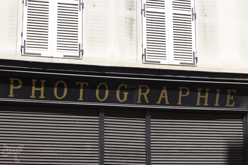 facade shop Photographie Paris