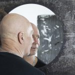 Kees de Witt Wijn in front of Mirror Planet