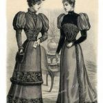 Winter fashion 1903