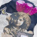 DRP Art journal spread with vintage photo II